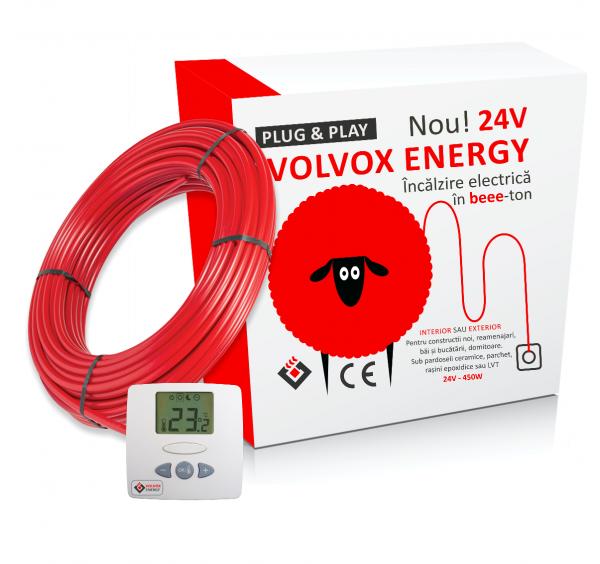 Sistem de incalzire electrica in pardoseala - Cablu 24V