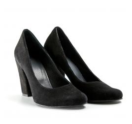 Pantofi dama cu toc, TUNGUS, piele naturala, marimi 34-40 EU